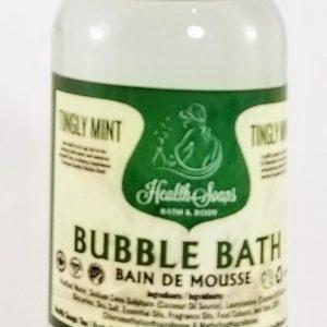 Tingly Mint Bubble Bath 250ml