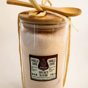 Vanilla Bath Salts in a Glass Jar 700gr
