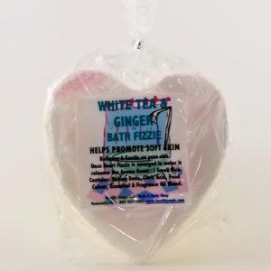 White Tea Ginger Bath Fizzie 200gr