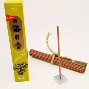 Yuzu (Grapefruit) Incense…50 sticks with holder
