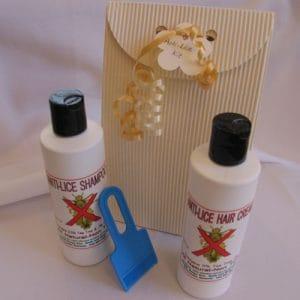 Head Lice Shampoo (250ml) & Cream (250ml) Package