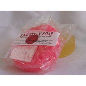 Raspberry Bar Soap 80gr