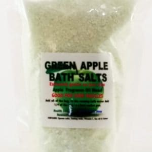 Green Apple Bath Salts 300gr