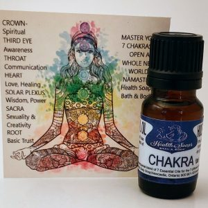 Chakra Essential Oil Blend 10ml