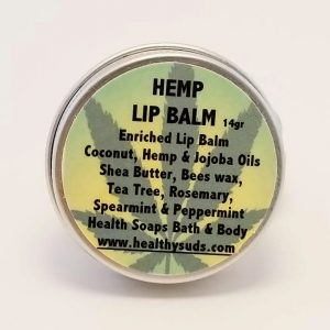 Hemp Lip Balm Container 14gr