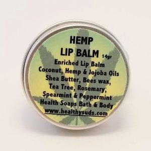 Hemp Lip Balm Container 14gr