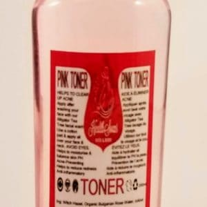 Pink Toner (Witch Hazel & Organic Bulgarian Rose Water) 250ml