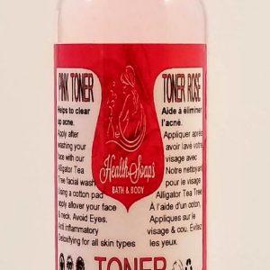 Pink Toner (Witch Hazel &  Organic Bulgarian Rose water) 60ml