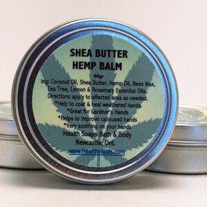 HEMP BALM for Problematic Hands made with Shea Butter & Hemp Oil 40gr