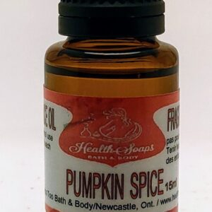 Pumpkin Spice Fragrance Oil 15ml