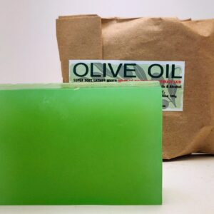 Olive Oil Bar Soap (organic & biodegradable) 80gr